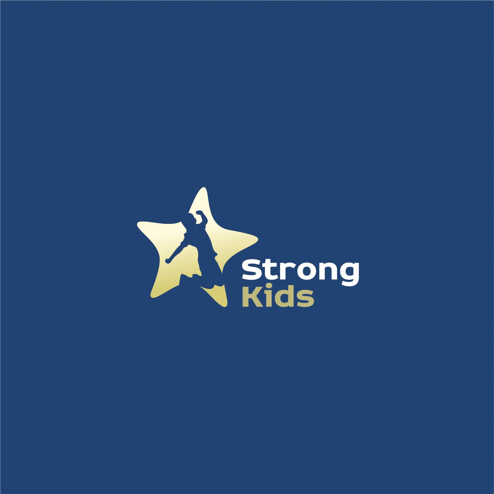 Логотип для Детского Интернет Магазина StrongKids фото f_1055c653f3fdef4d.jpg
