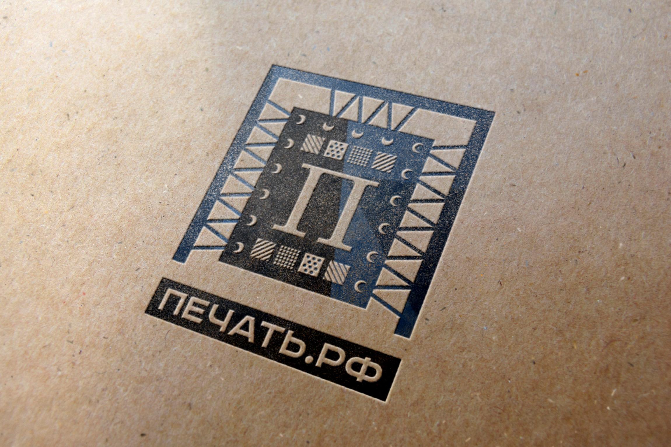 Логотип для веб-сервиса интерьерной печати и оперативной пол фото f_3525d290916797ec.jpg