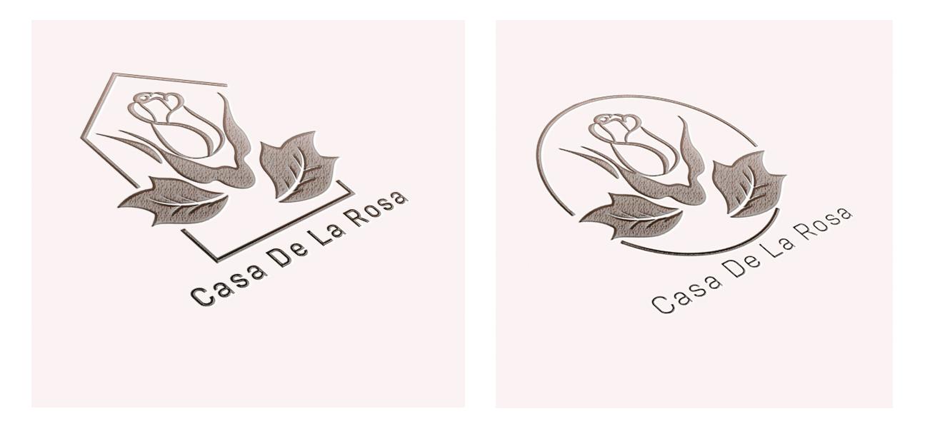 Логотип + Фирменный знак для элитного поселка Casa De La Rosa фото f_1785cd589501554c.jpg