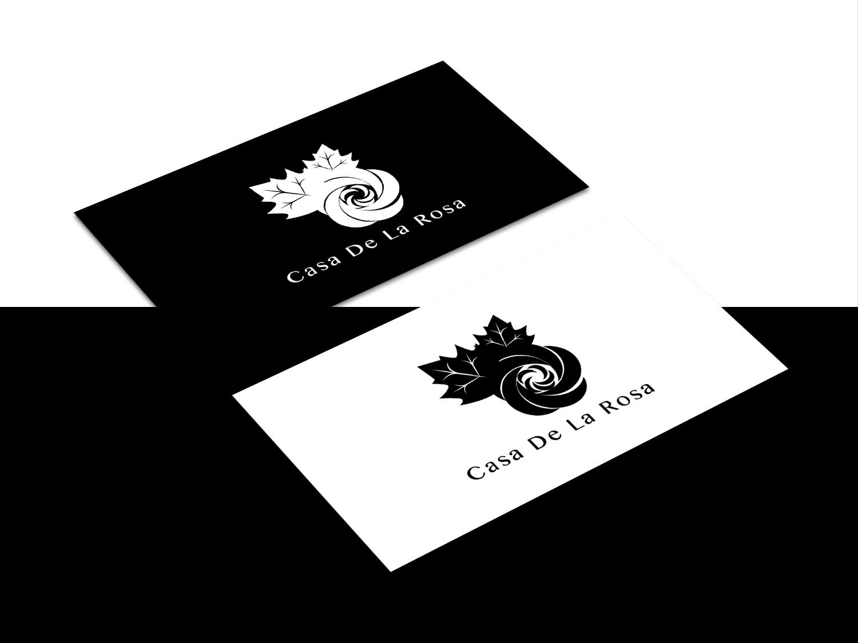 Логотип + Фирменный знак для элитного поселка Casa De La Rosa фото f_2095cd29105ea620.jpg