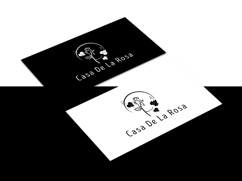 Логотип + Фирменный знак для элитного поселка Casa De La Rosa фото f_5475cd28d6171577.jpg