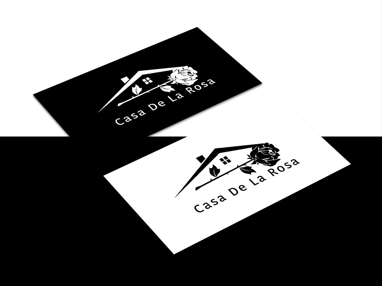 Логотип + Фирменный знак для элитного поселка Casa De La Rosa фото f_7395cd2b87806870.jpg