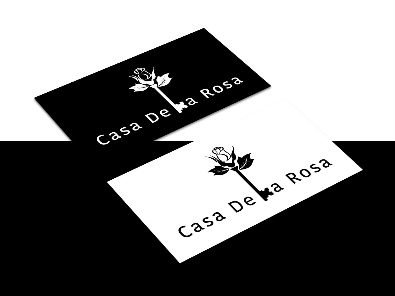 Логотип + Фирменный знак для элитного поселка Casa De La Rosa фото f_7575cd2c8019acd3.jpg