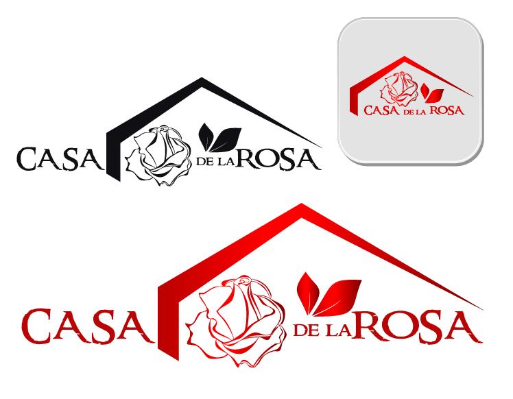 Логотип + Фирменный знак для элитного поселка Casa De La Rosa фото f_0585cd352685d59b.png