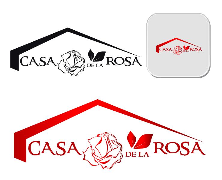 Логотип + Фирменный знак для элитного поселка Casa De La Rosa фото f_1175cd35734e1b42.png