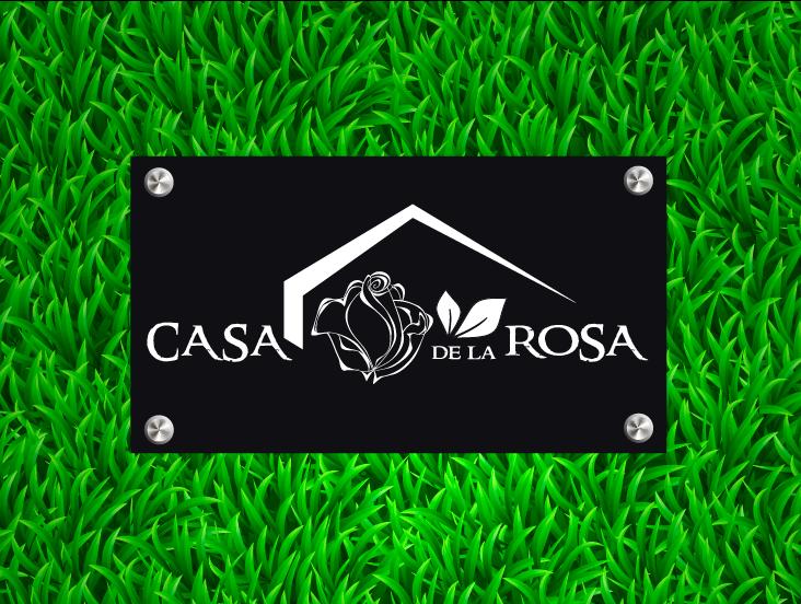 Логотип + Фирменный знак для элитного поселка Casa De La Rosa фото f_4965cd6a20c4d47e.png