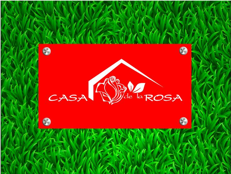 Логотип + Фирменный знак для элитного поселка Casa De La Rosa фото f_5105cd6a4ed71dd9.png