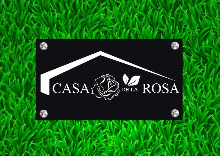 Логотип + Фирменный знак для элитного поселка Casa De La Rosa фото f_7105cd6a2013bc9f.png