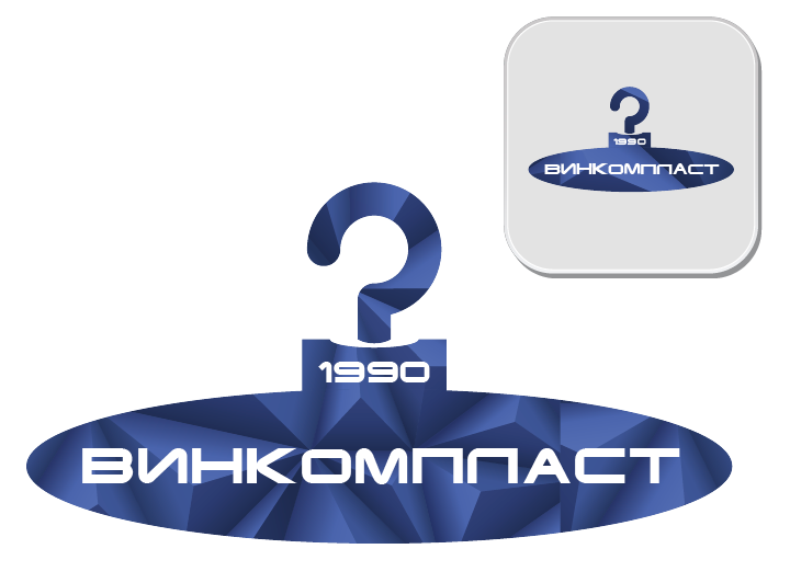 Логотип, фавикон и визитка для компании Винком Пласт  фото f_8175c3715c06c18a.png