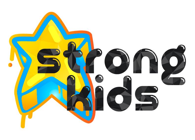 Логотип для Детского Интернет Магазина StrongKids фото f_8585c87fc390324b.png