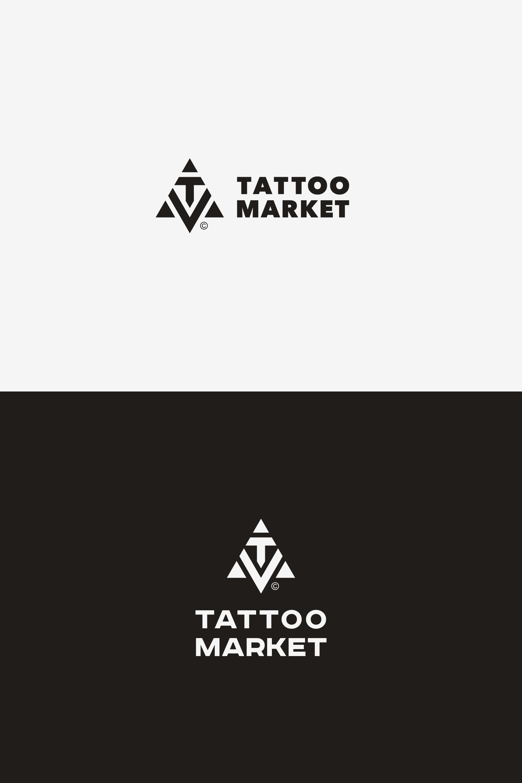 Редизайн логотипа магазина тату оборудования TattooMarket.ru фото f_1565c406e920c5c1.png