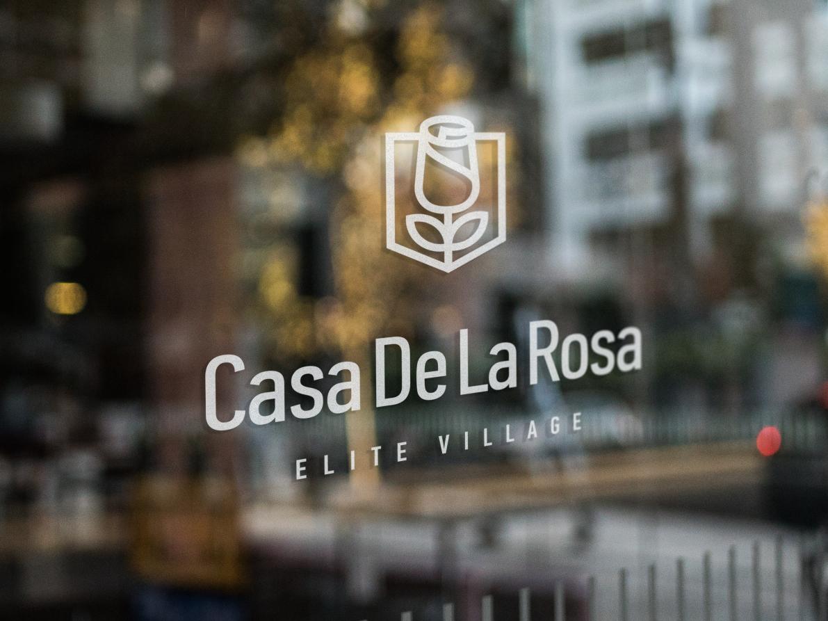Логотип + Фирменный знак для элитного поселка Casa De La Rosa фото f_3035cd4737549469.png