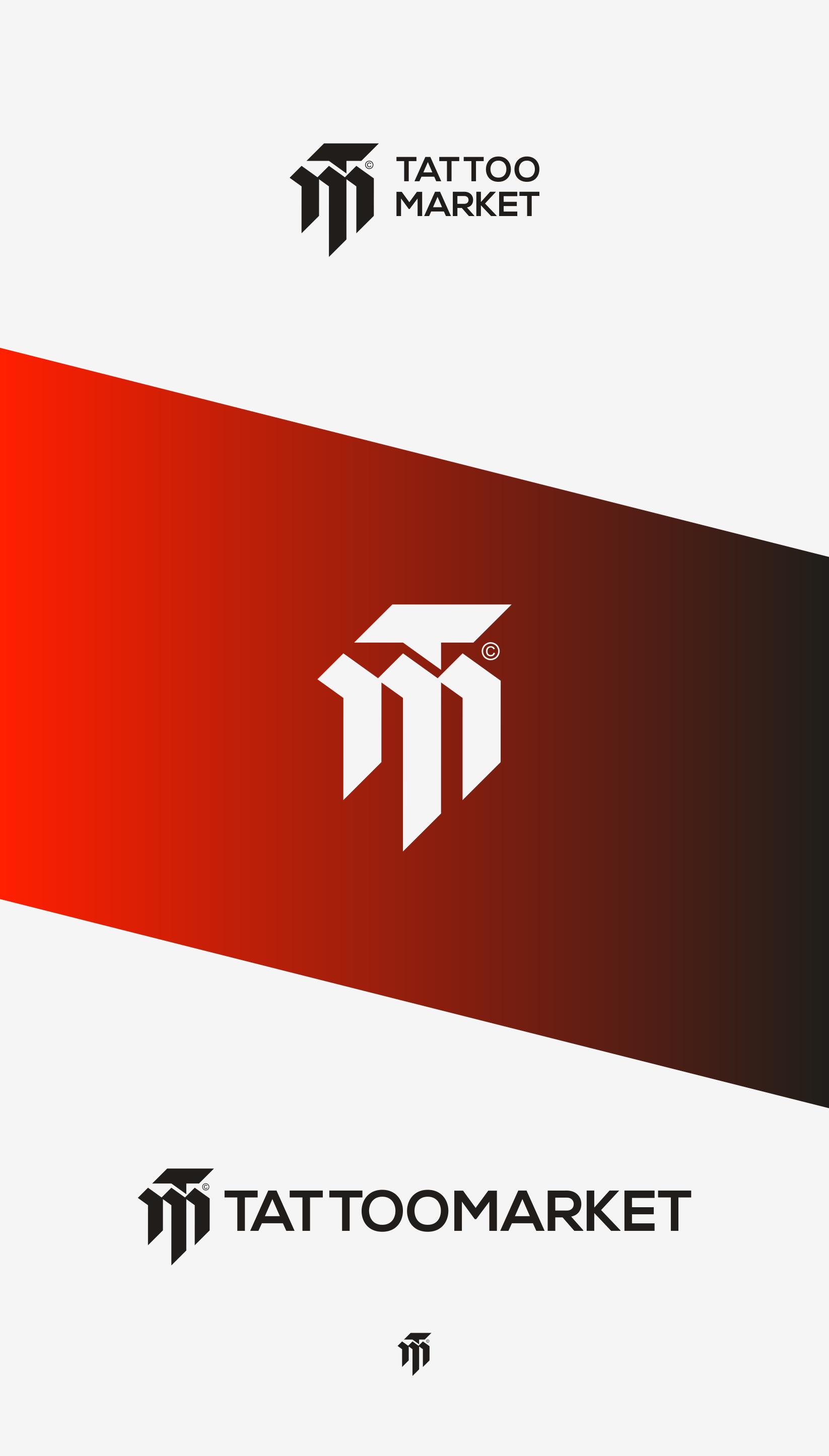 Редизайн логотипа магазина тату оборудования TattooMarket.ru фото f_6095c3efd58cd77d.png