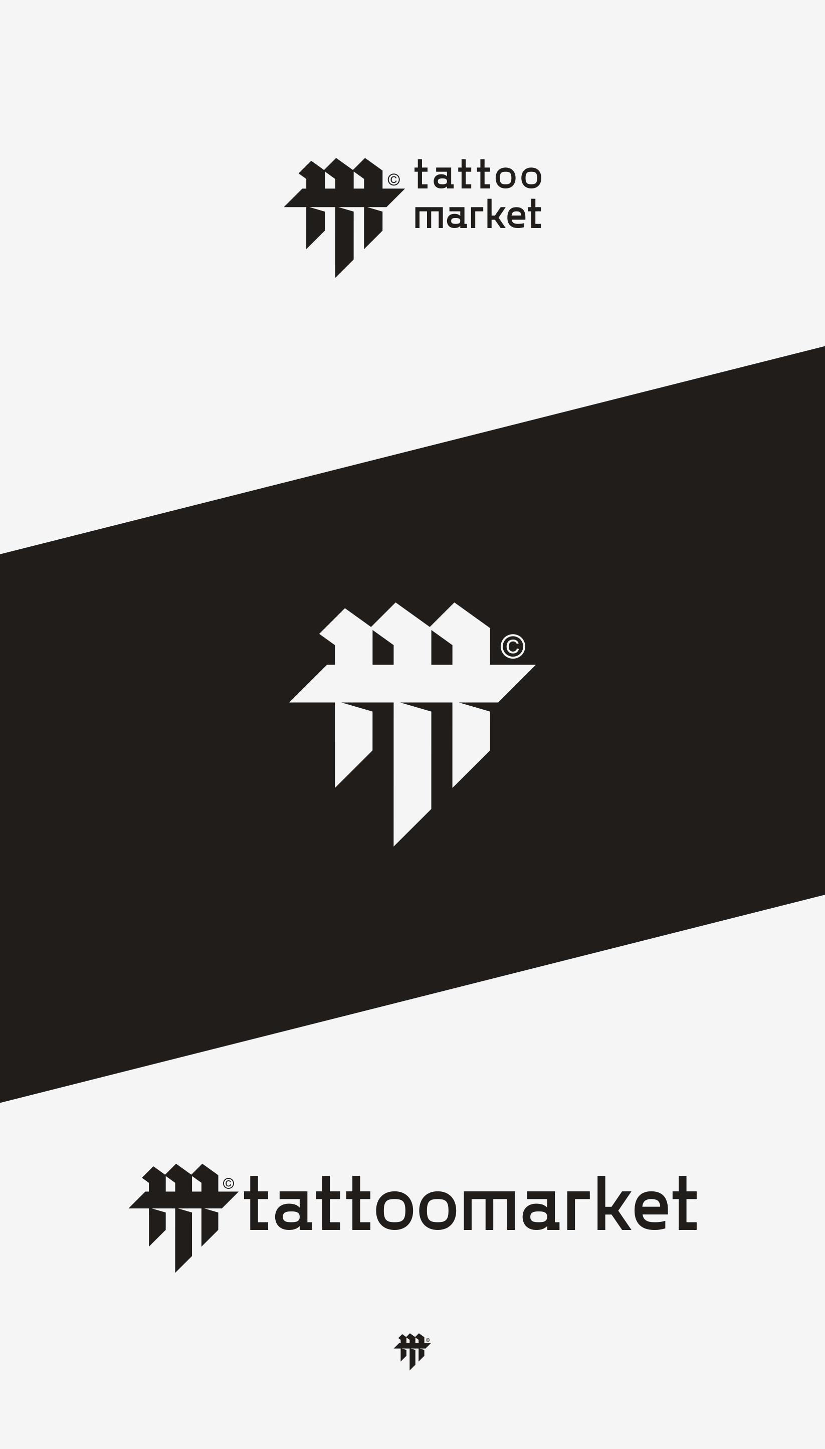 Редизайн логотипа магазина тату оборудования TattooMarket.ru фото f_6105c3a4e2bed212.png