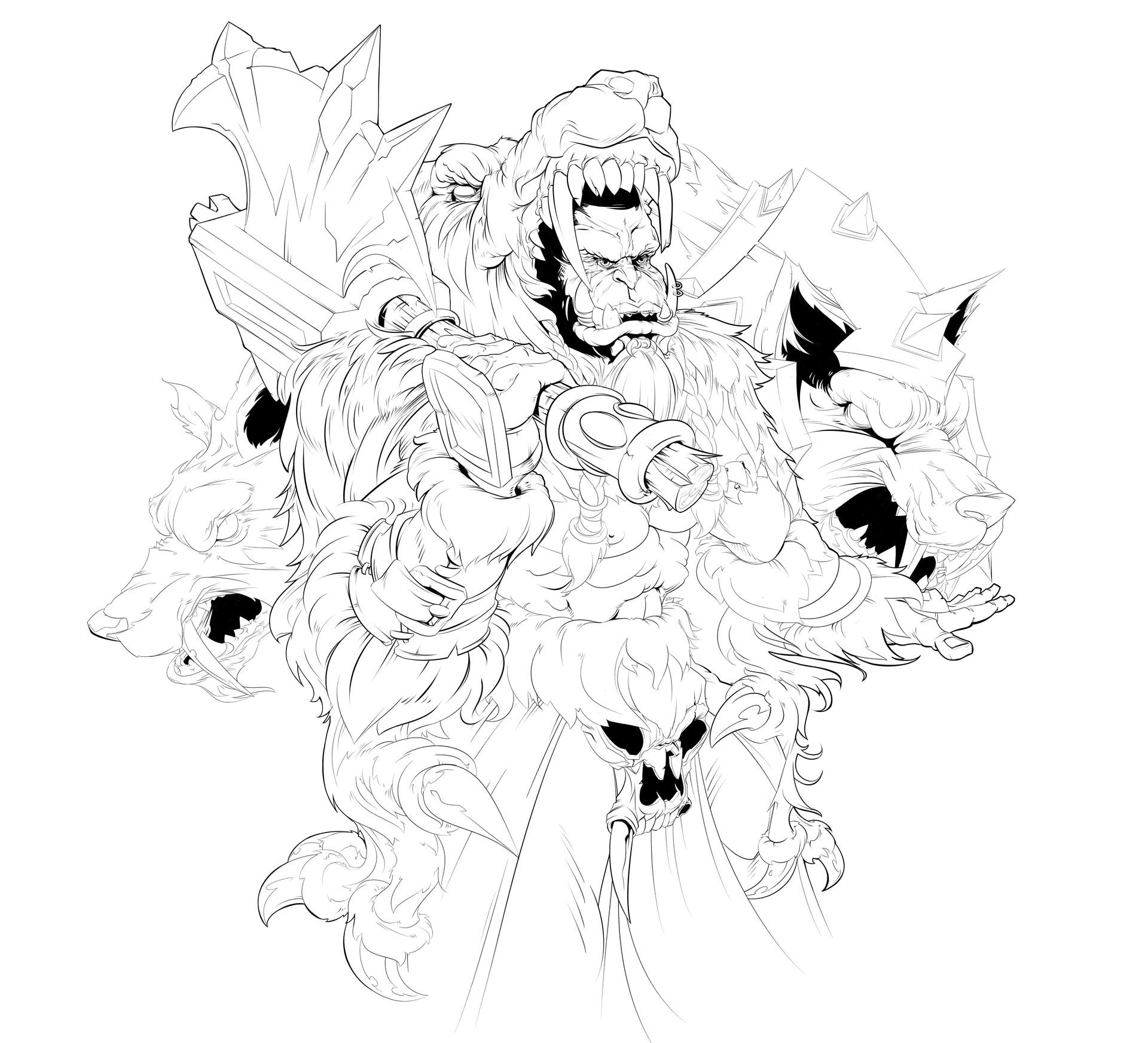 Иллюстрация Дуротан