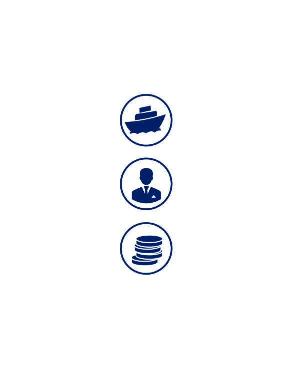 Дизайн и верстка лифлетов 3х дочерних судоходных компаний  фото f_0305b434f4edab06.jpg