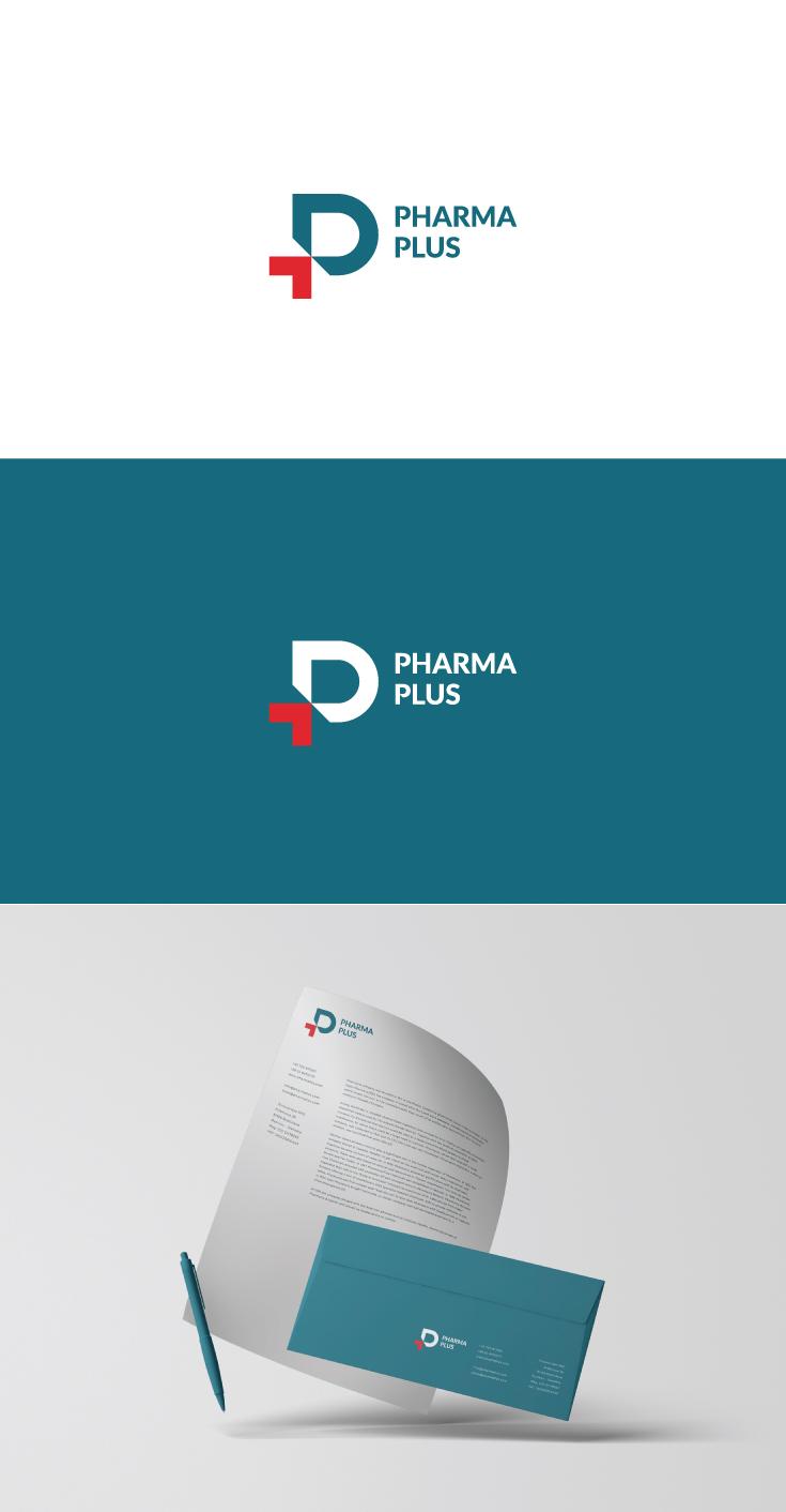 Логотип для Pharma Plus