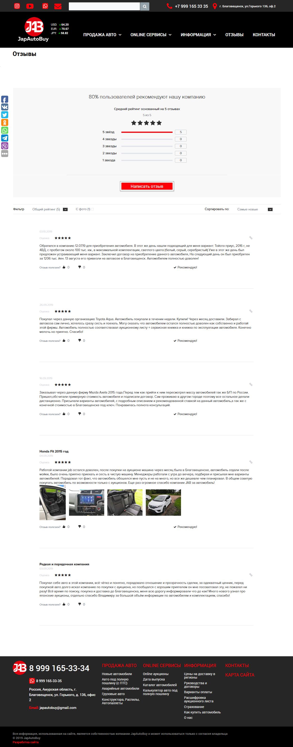 Сайт с online аукционами по продаже автомобилей из Японии, Битрикс