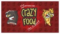 Сrazy roll (визитка + флаер)