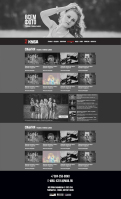 Разработка дизайна фото-сайта
