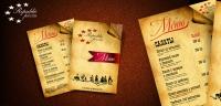 Дизайн и верстка меню для пиццерии