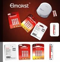 Фирменный стиль батареек  Elmakst
