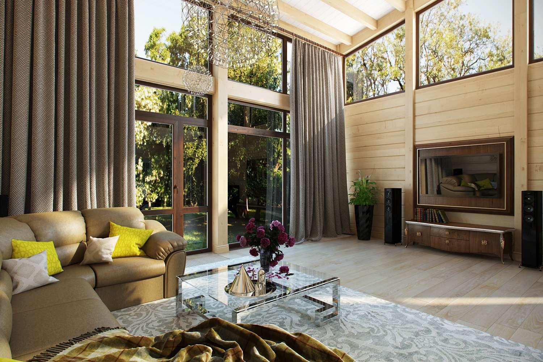 Дизайн и визуализация гостинной комнаты частного дома. фото f_3335f44dbcad75ee.jpg