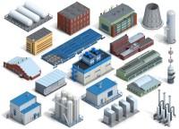 Здания для карты предприятия