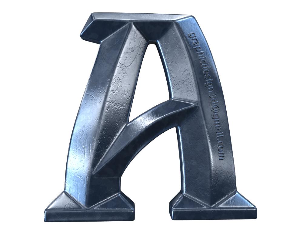 Моделирование и визуализация буквы