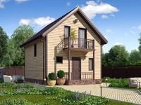Архитектурная визуализация, небольшие дома