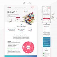 Landing Page – MoveUp.pro, move up in Yelp