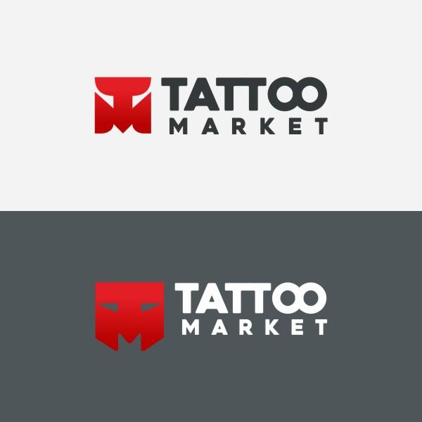 Редизайн логотипа магазина тату оборудования TattooMarket.ru фото f_1925c4017c1af822.jpg