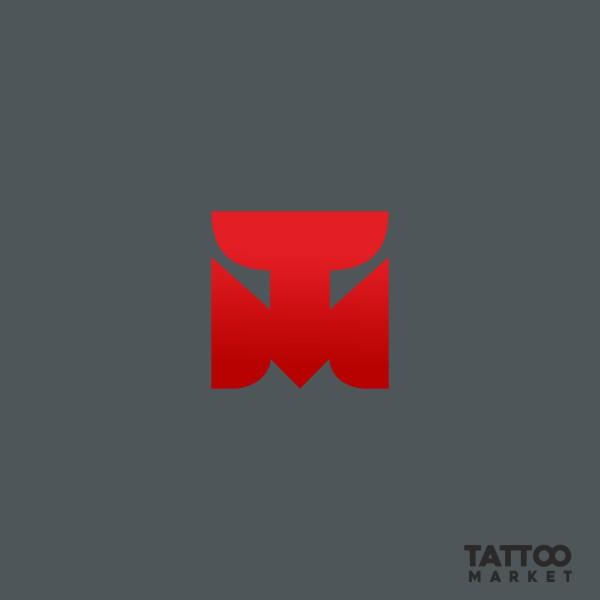 Редизайн логотипа магазина тату оборудования TattooMarket.ru фото f_4645c401670ee285.jpg