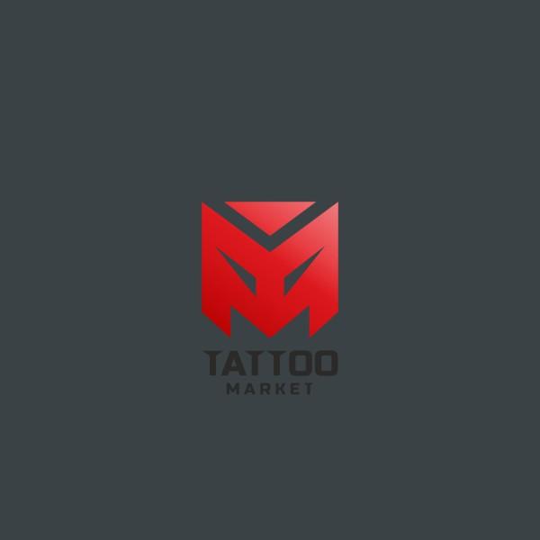 Редизайн логотипа магазина тату оборудования TattooMarket.ru фото f_8245c3ec869b786f.jpg
