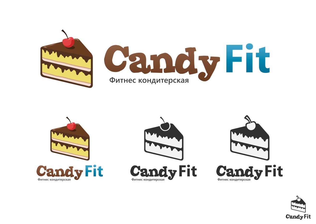 "Разработать логотип для ""CandyFit"" фото f_75151e3b5dd4f3d0.jpg"