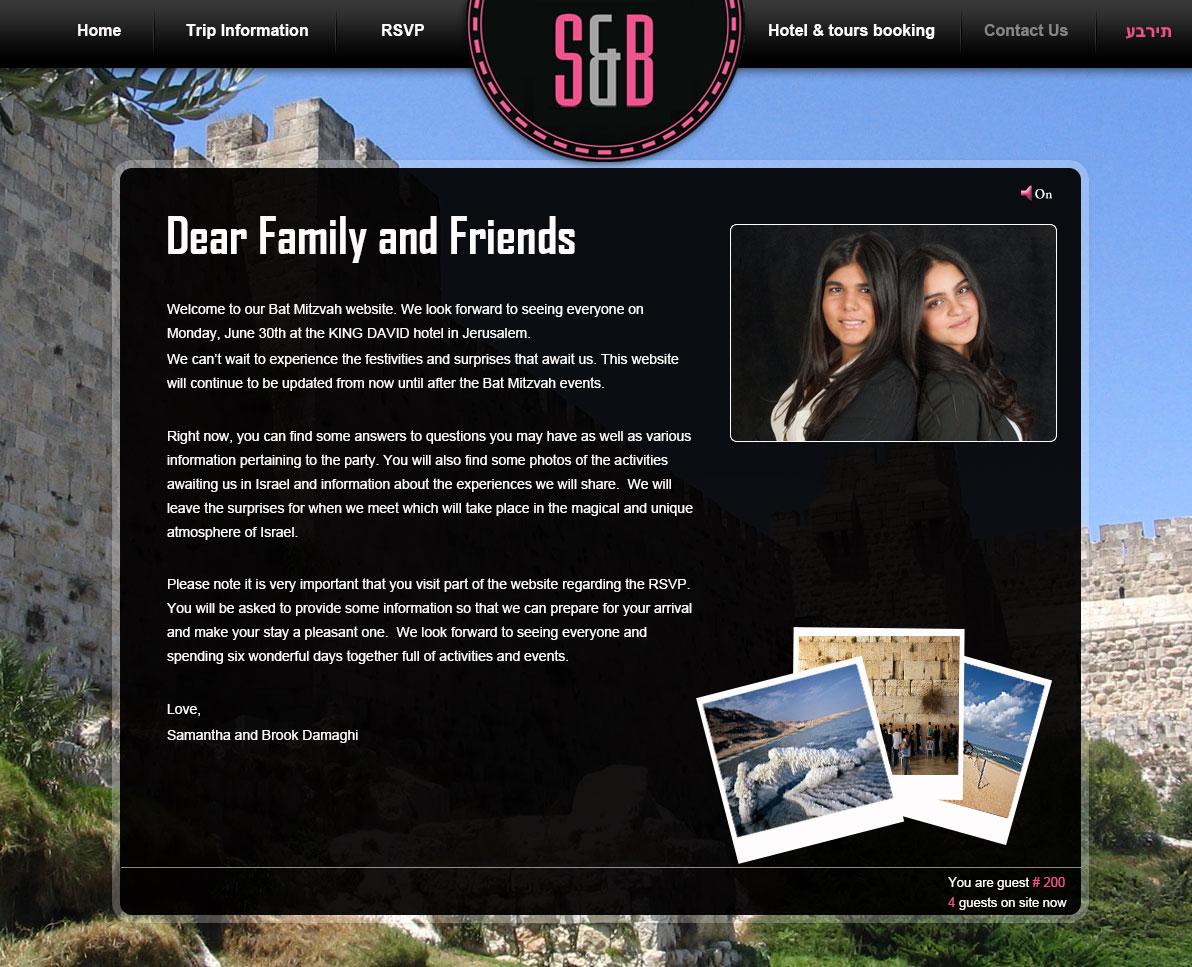 Корпоративный сайт: Студия S&B