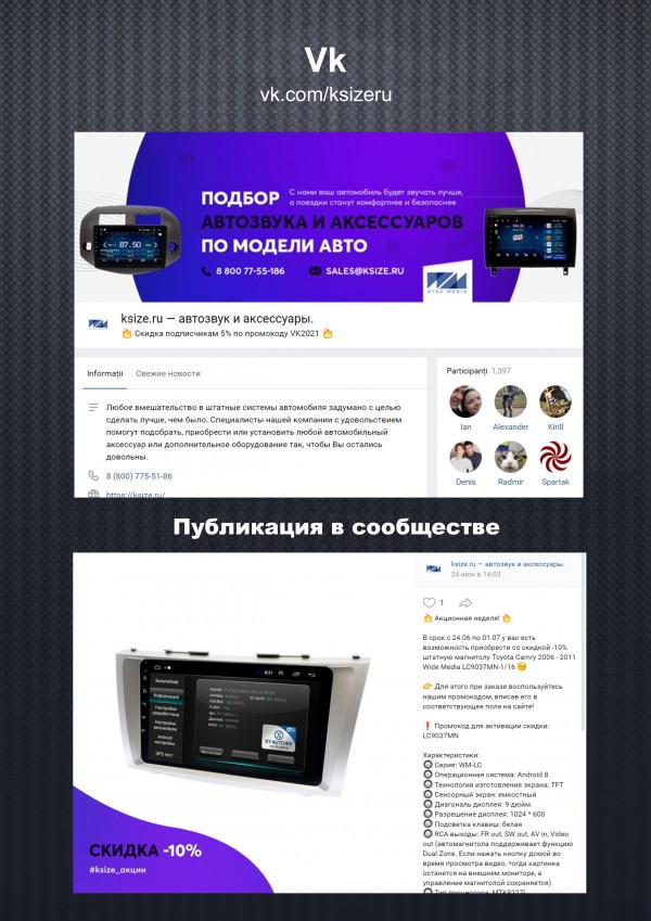 Автозвук и аксессуары / Вконтакте