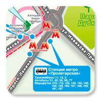 Схема проезда - НН
