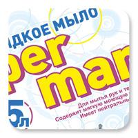 Этикетка жидкого мыла «Per mani»