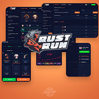 Rust Run (Crash Roulette)