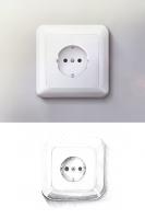 Icon - Розетка (+набор иллюстраций)