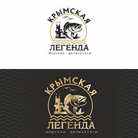 Логотип: Крымская легенда (морские деликатесы)