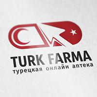 Logo: Turk Farma (турецкая онлайн аптека)