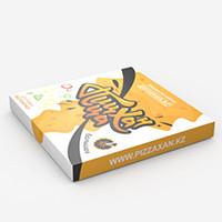"""Дизайн упаковки: Доставка пиццы """"Пицца Хан"""""""