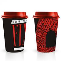 Дизайн стаканчика Coffee