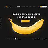Дизайн студии веб-дизайна: Juicy-ART v3