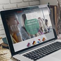 Дизайн сайта: Бенедикт (межд. языковая школа)