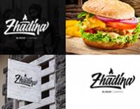 Логотип для (кафе) – Zhadina Burgers