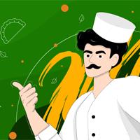 Дизайн сайта: Dolma.ru (Азербайджанская кухня)