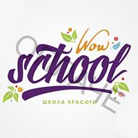 Логотип: WOW SCHOOL | Школа красоты